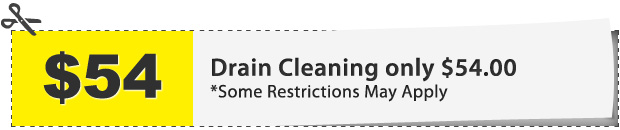 Drain Cleaning Coupon