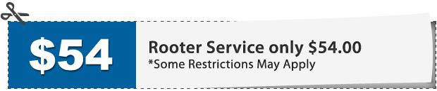 Plumbing Rooter Service Discount